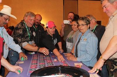 Casino Night 2016 - Roulette Table