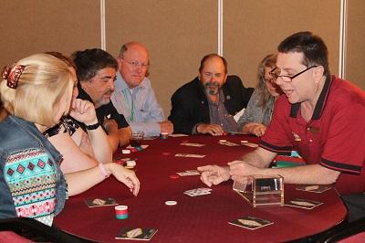 Casino Night 2016 - Texas Holdem Table