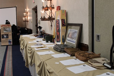 Silent Auction Table 2016