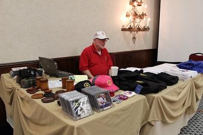 Vendor 2016 - TCHA Booth Treasurer Boyd Grimes