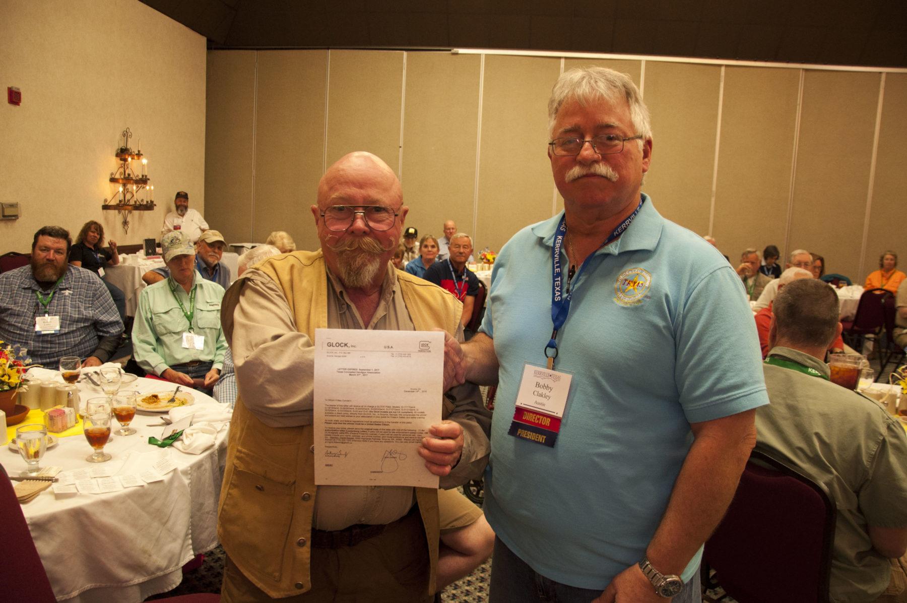 Glock Certificate Winner