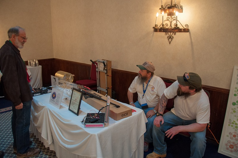 21-Gun Raffle Table