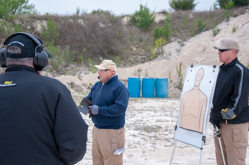 28-Range Instructors Jamie LaBarbera & Aaron Marshall