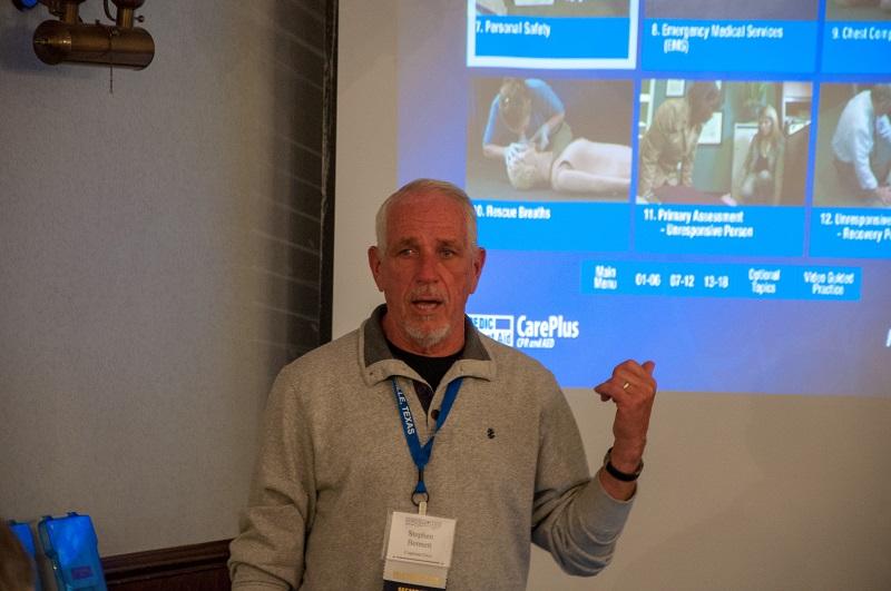39-Instructor Stephen Bennett